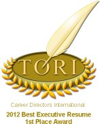TORI Career Resume Award