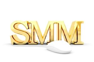 Social media management stylized abbreviation